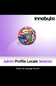 admin profile locale selector logo