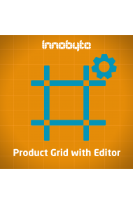 Product Grid with Editor