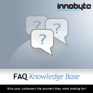 FAQ - Knowledge Base Logo
